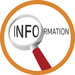 Finding out information logo