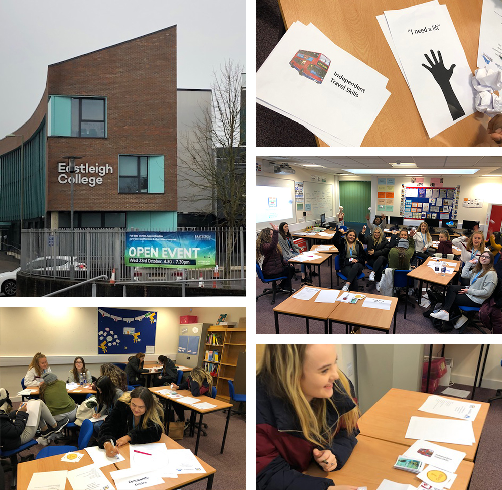 Eastleigh College montage